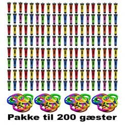 rave party pakke til 200 gæster