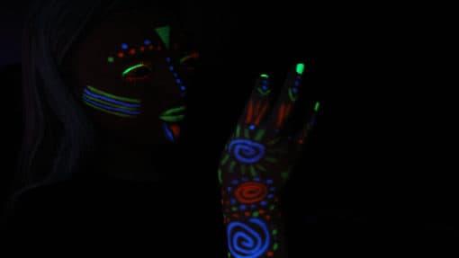 UV Paint sticks