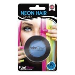 UV hårkridt Blå