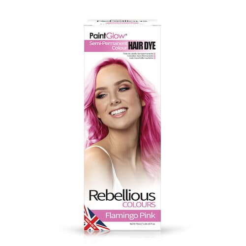 Rebellious Semi Permanent Hårfarve Flamingo Pink