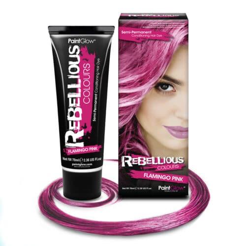 Semi Permanent Hårfarve, Semi Permanent Hårfarve Flamingo Pink, flamingo pink hårfarve