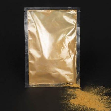 Farvepulver guld, Farvepulver, Holi Color Powder, Farvepulver til photoshoot, Farvepulver til color run, Color run farve
