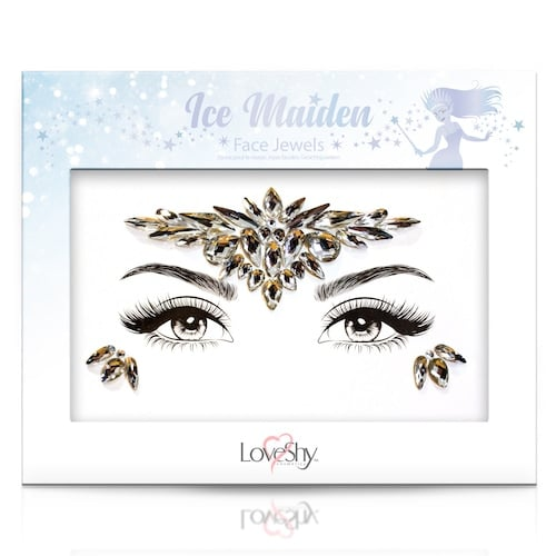 Ice Maiden Face Jewels