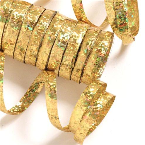 Holographic Serpentiner guld