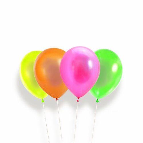 Neon UV balloner