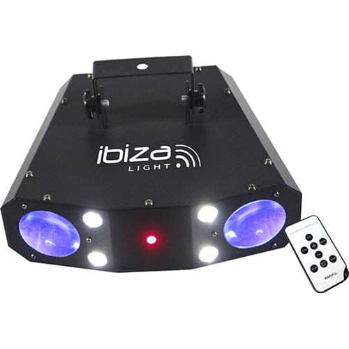 Ibiza Multi LED discolys
